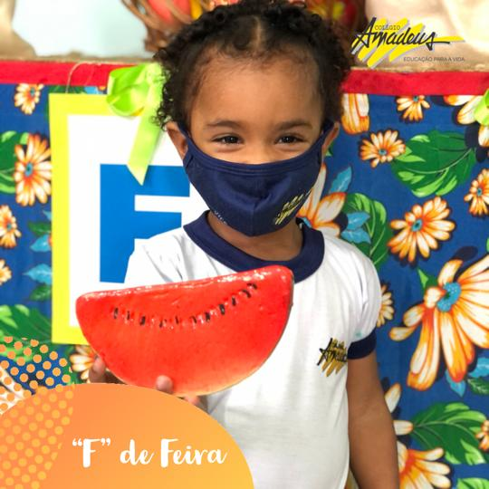 EDUCAÇÃO INFANTIL - F de FEIRA