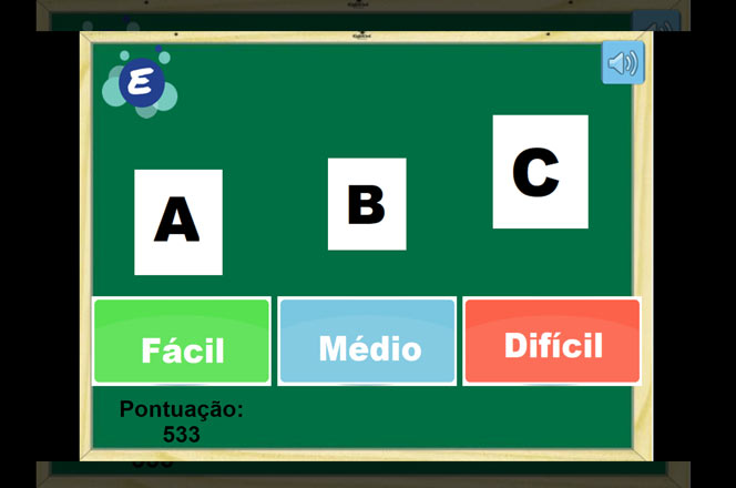 Jogo da Memória - Alfabeto